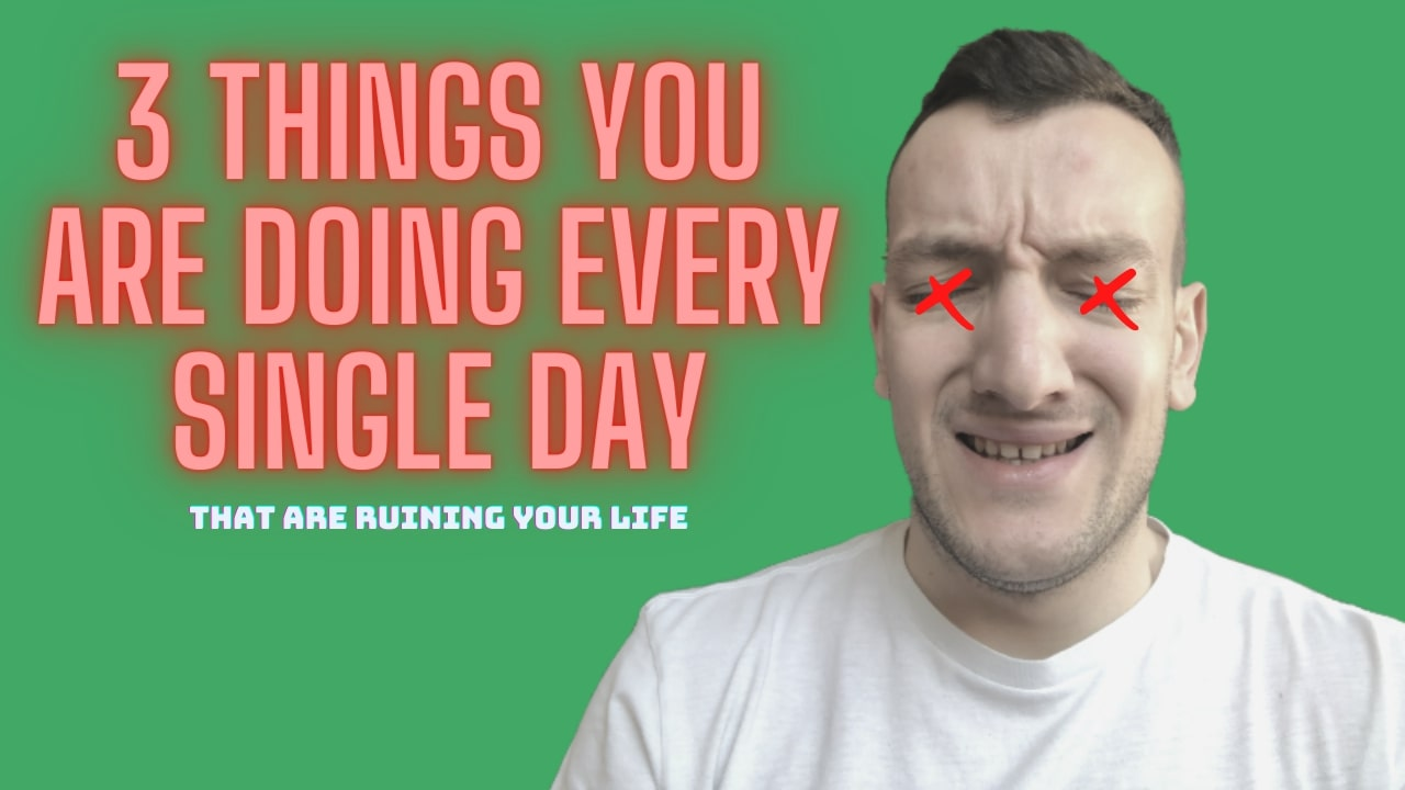 DON'T Turn A Blind Eye To These 3 Things That Are Ruining Your Life